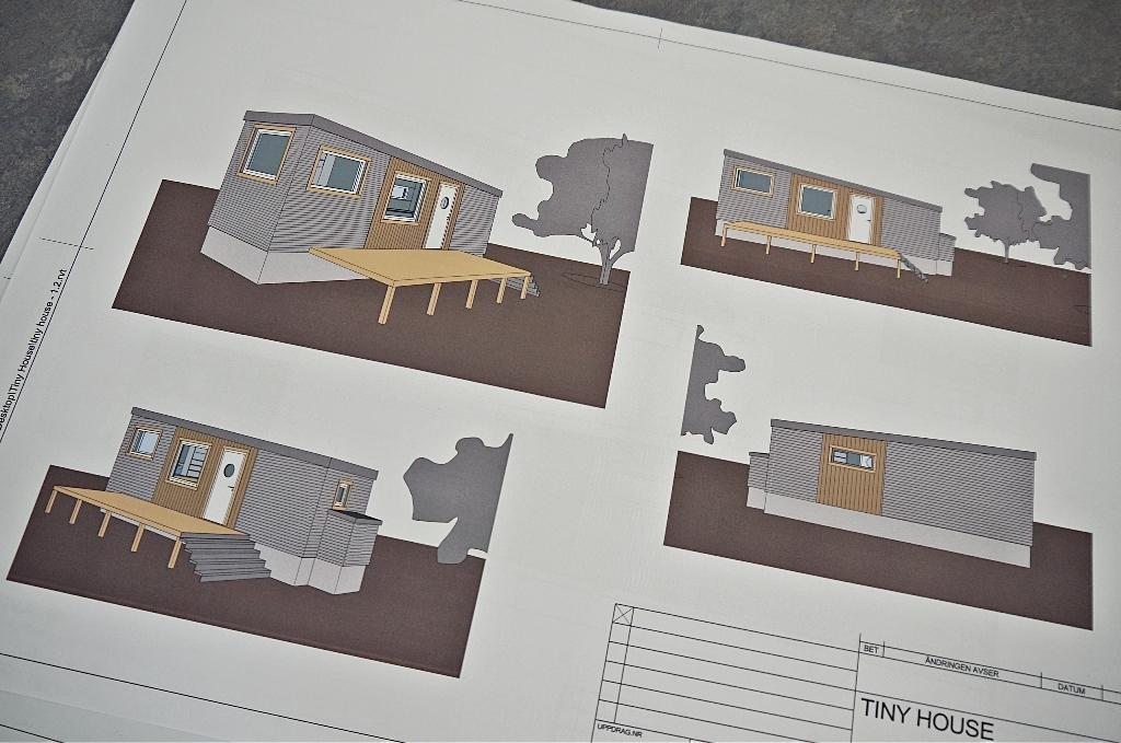 tiny house, hus på hjul